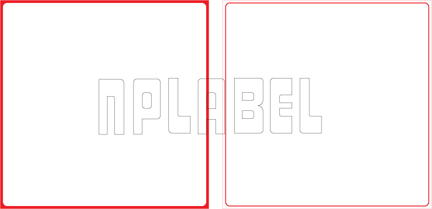 ML150150 General Purpose Sticker Size 150x150mm