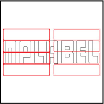 ML15037 General Purpose Sticker Size 150x37.5mm