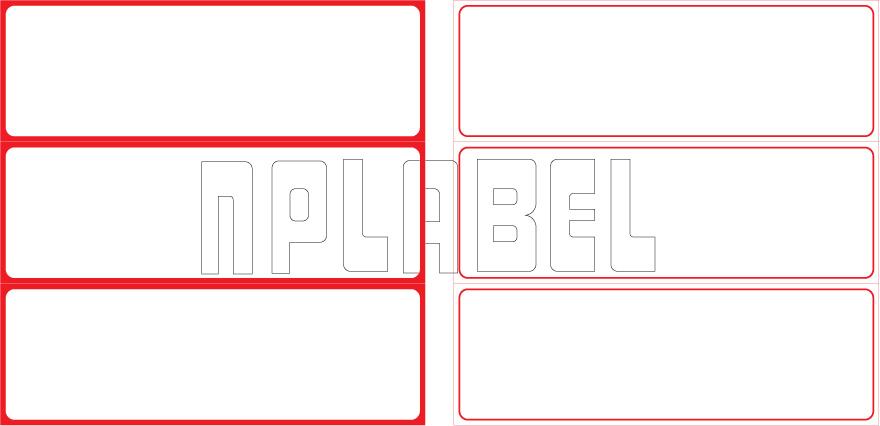 ML15050 General Purpose Sticker Size 150x50mm