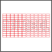 ML2512 General Purpose Sticker Size 25x12.5mm