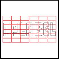 ML5025 General Purpose Sticker Size 50x25mm