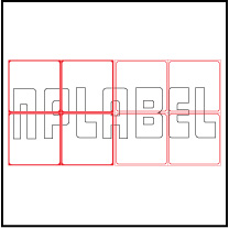 ML7575 General Purpose Sticker Size 75x75mm
