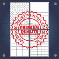 Multipurpose Self Adhesive Labels - A4 Sheets Premium Quality
