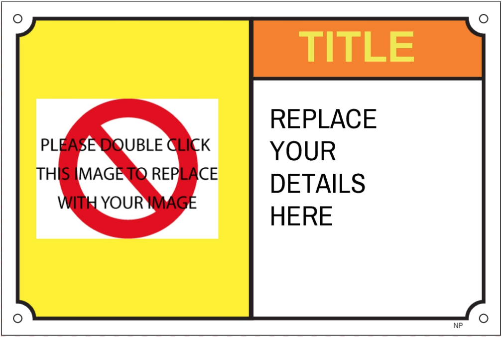 152607 Warning Caution Label Template