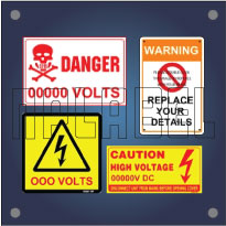 Customize Electrical Labels