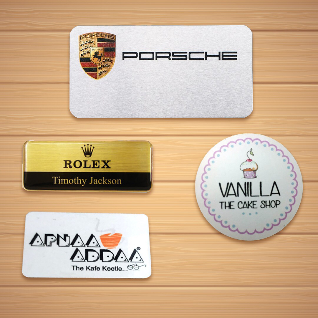 NBRT01  Different Name Badges