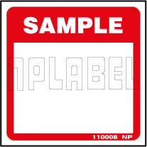 110008 Sample Labels & Stickers