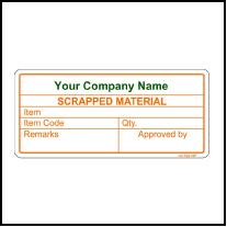 141793 Scrapped Material Sticker