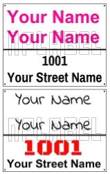 142719 Customize Name Plate