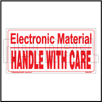 150451 Handle with Care sticker for Electronic Material