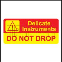 150452 Caution - Do Not Drop Labels & Stickers
