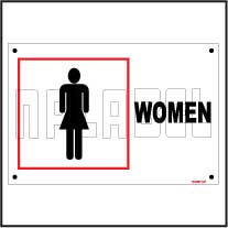 151557 Women Toilets Sign Name Plates & Signs
