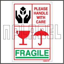 152459 Fragile Shipping Stickers