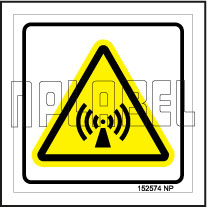 152574 Volume Signs Sticker