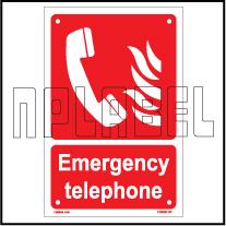 153608 Emergency Telephone Name Plate & Signs