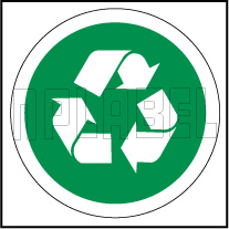 153618 Recycle Sign Name Plate