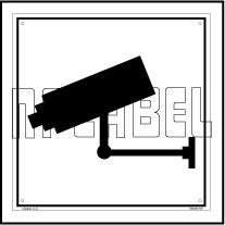 160003 CCTV Sign Name Plate