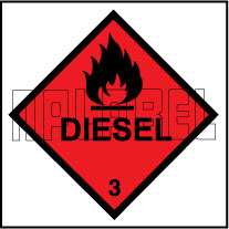 160029 DIESEL Signs Stickers