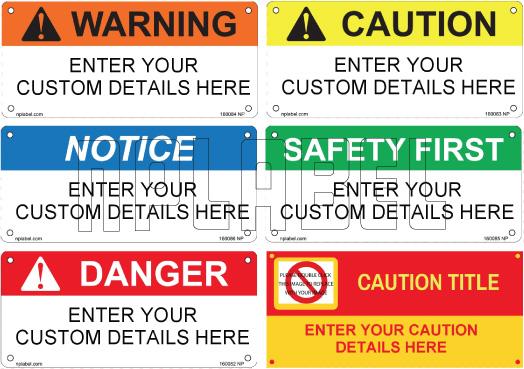 160082_86 Customize Safety Sticker