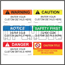 160082_86 Customize Safety Sticker