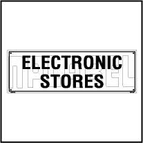 160110 Electronic Store Name Plates
