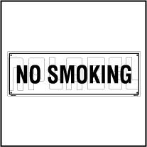 160112 No Smoking Name Plates