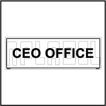 160126 CEO Office Name Plates