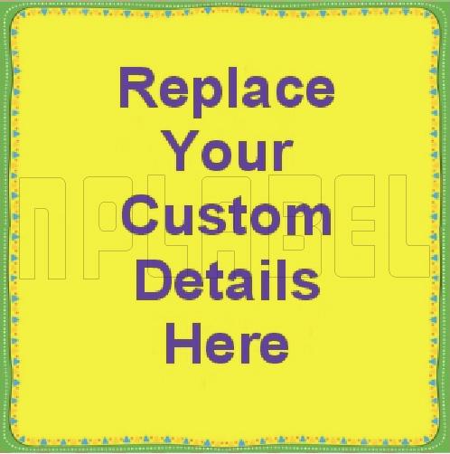 162528 Custom Sticker