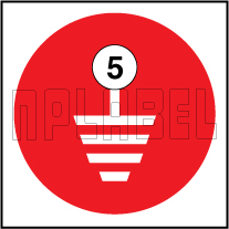 162550RW Earthing Labels