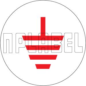 162562RS Earthing Metal Labels