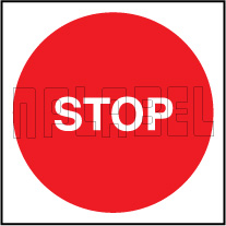 162568 STOP Labels