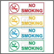 162574 No Smoking Sticker