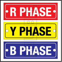 162602 R Y B Phase Labels