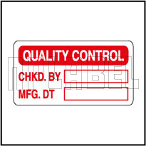 420010 Quality Control - QC Sticker