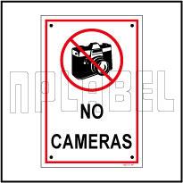 582727 No Cameras Signage & Name Plates