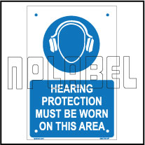 590738 Hearing Protection Name Plates