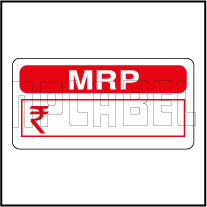592318 MRP Price Tag Label Sticker