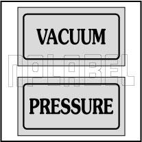 940168 Vacuum Pressure Stickers