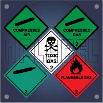 Class 2 - Gas Labels