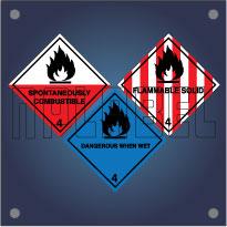 Class 4 - Flammable Solids