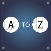 A to Z Alphabets Tags & Labels