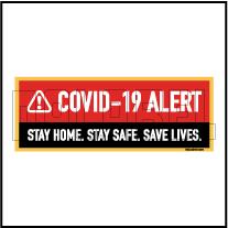 CD1921  COVID19 Alert Signages