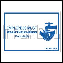 CD1933 Wash Hands Signages