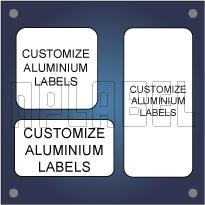 Customize Square / Rectangular Metal Labels