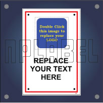 Create Your OWN General Signage Plate