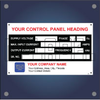 Create your OWN Electrical Control Panel Labels and  Decals