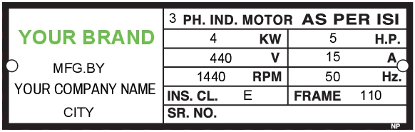 Data Label Template Data 005