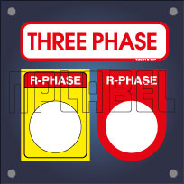 Electrical Phase Indication Labels