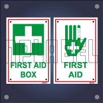 First Aid Signs Name Plates