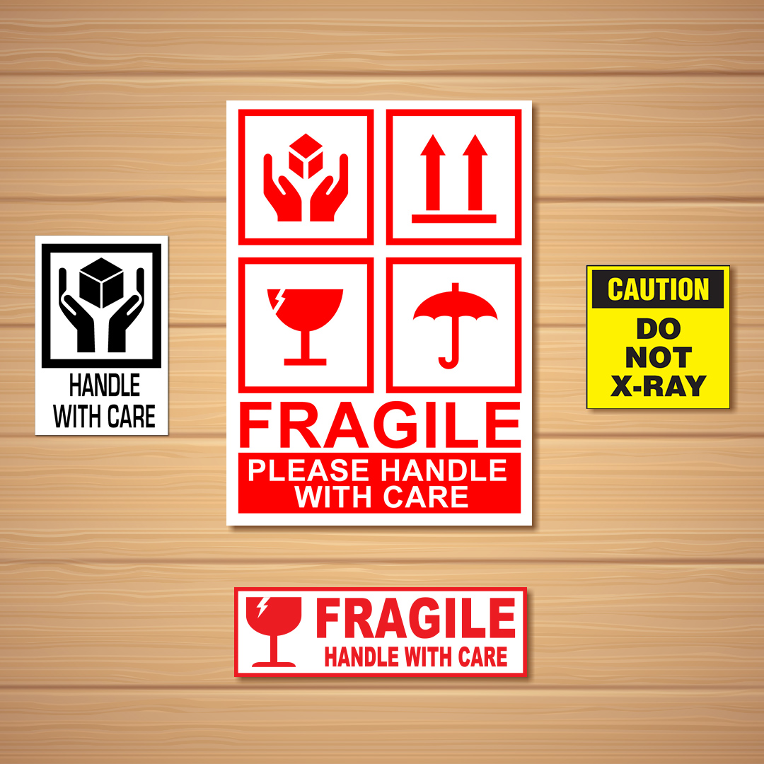 Shipping & Material Handling Labels & Stickers